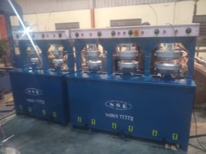 Hydraulic Paper Plate Making Machine Double Die