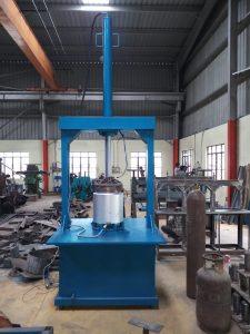 double Hydraulic Plate Making Machine