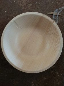 shapes and designs of areca plate