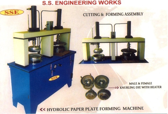 hydraulic-paper-plate-making-machine